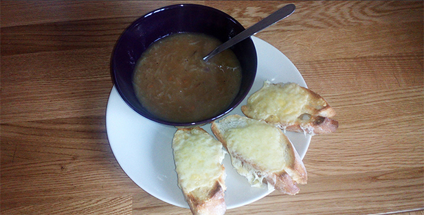 Delicious Onion Soup