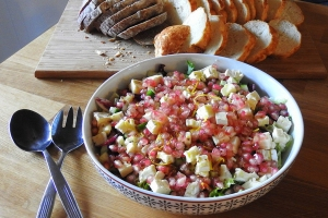 Fresh Pomegranate Salad