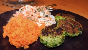 Pea And Salmon Patties