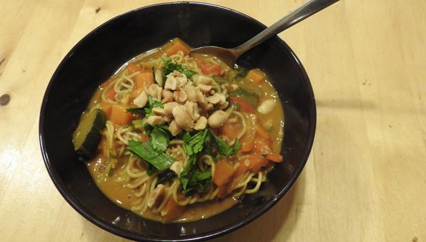 Thai-Style Peanut Soup